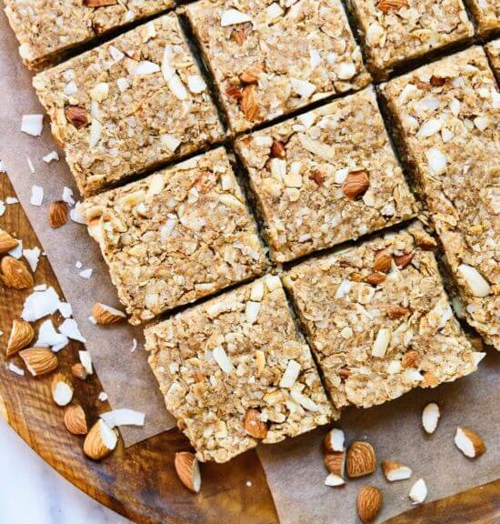 Almond Coconut Granola Bars